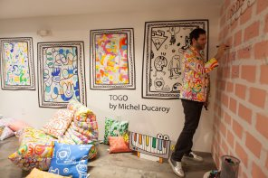 Dizajnersko pohištvo Kirkby x Jon Burgerman x Ligne Roset