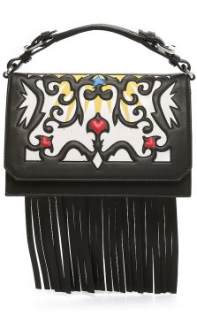MSGM Embroidered Satchel