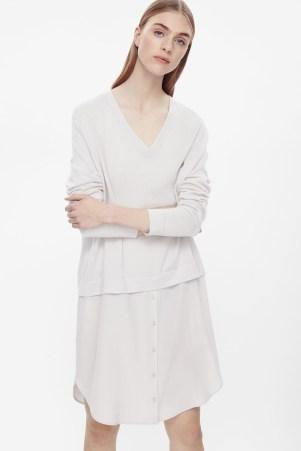 COS Silk Shirt Dress (cosstores.com, 89 €)