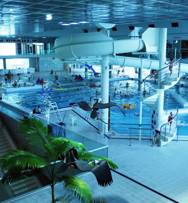 Montpellier, Francija: Piscine Olympique d'Antigone