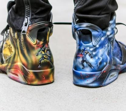 Top personalizirane superge: Mortal Kombat 'Get Over Here' 6s