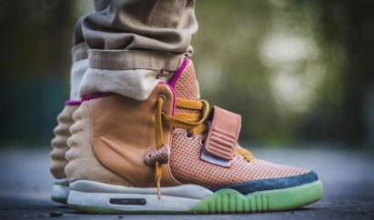 Top personalizirane superge: Nike Air Yeezy 2 'Net'