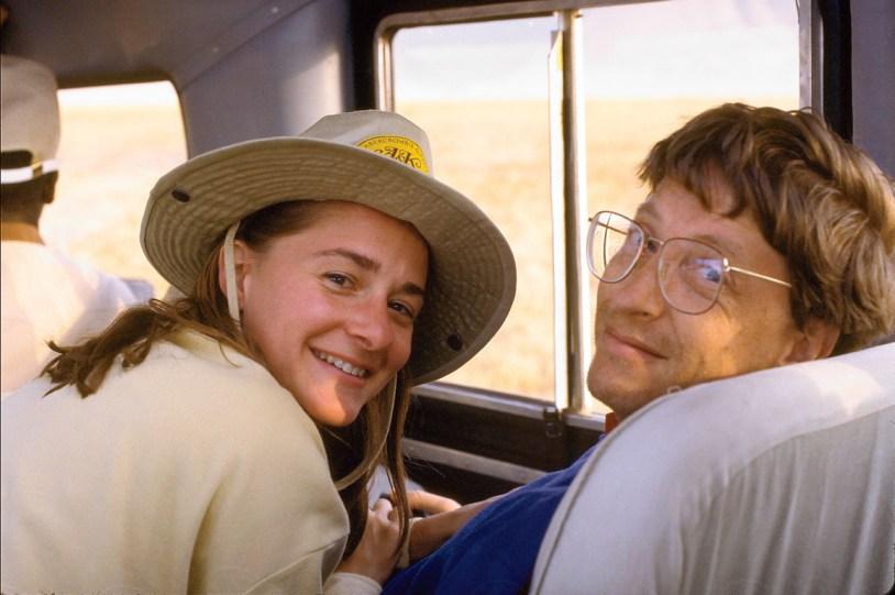 Bill in Melinda Gates
