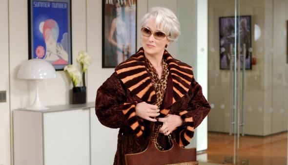 4. Miranda Priestley (Meryl Streep) - Hudičevka v Pradi