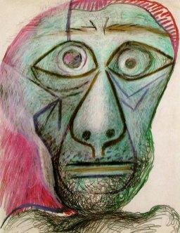Pablo Picasso, zadnji samoportret (1972)