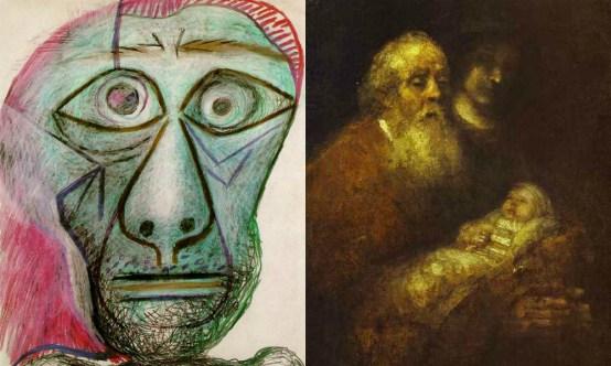 Zadnje umetniše slike znanih slikarjev