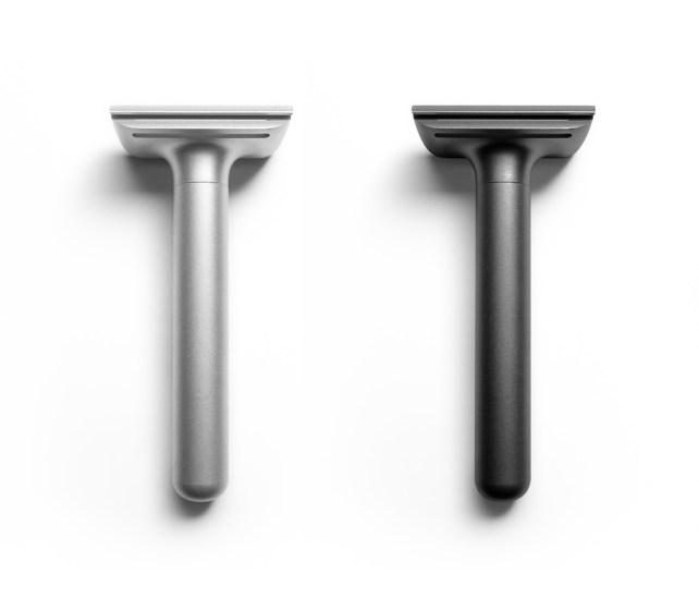 Luksuzni aluminijasti britvici Type 15 a. Cena: 80 evrov.