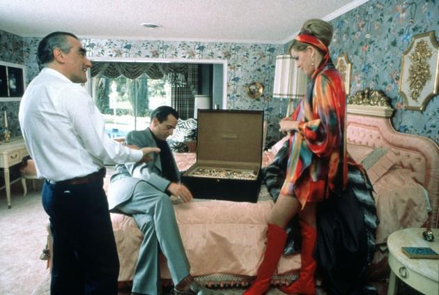 Casino (Kazino, 1995): Martin Scorsese, Robert De Niro in Sharon Stone