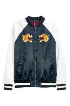 Souvenir jakne: H&M, 'bejzbol' jakna, 49,99 €