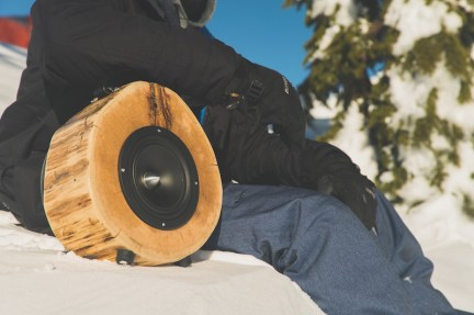 Zvočniki Rockit Logs