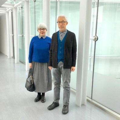 Najbolj ljubek par na svetu, ki se usklajeno oblači že 37 let.