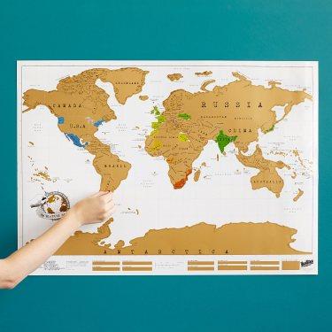 Scratch zemljevid