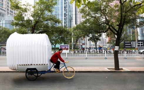 TRICYCLE HOME, Peking (Kitajska)