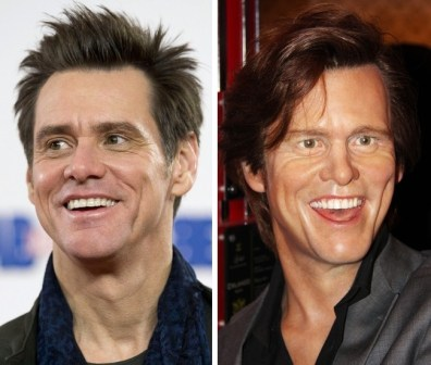 Jim Carrey v Madame Tussauds v Londonu