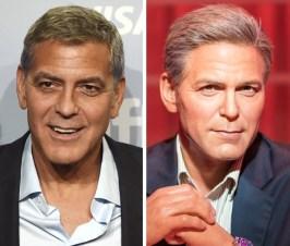 George Clooney v Madame Tussauds v Bangkoku