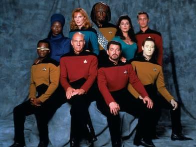 1987: Zvezdne steze: Naslednja generacija (Star Trek: The Next Generation)