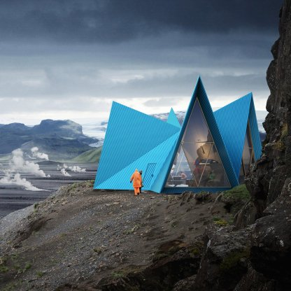 Skýli, islandsko zatočišče za pohodnike