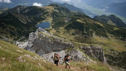 Adlerweg, Tirolska, Avstrija