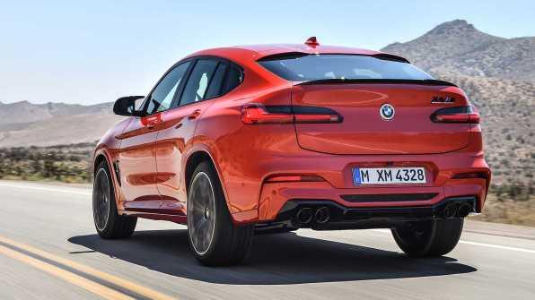 BMW X3 M in BMW X4 M