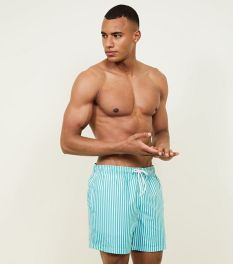 mint-green-stripe-swim-shorts
