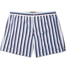 tods-navy-short-length-striped-swim-shorts