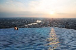 Compass Pools Infinity London