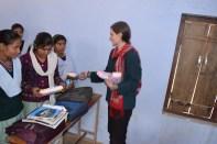 MH workshop Distributed pads In Bhatipura Villages Schools ,Meerut District ,Uttar Pradesh 3