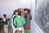 MH workshop Distributed pads In Bhatipura Villages Schools ,Meerut District ,Uttar Pradesh 7