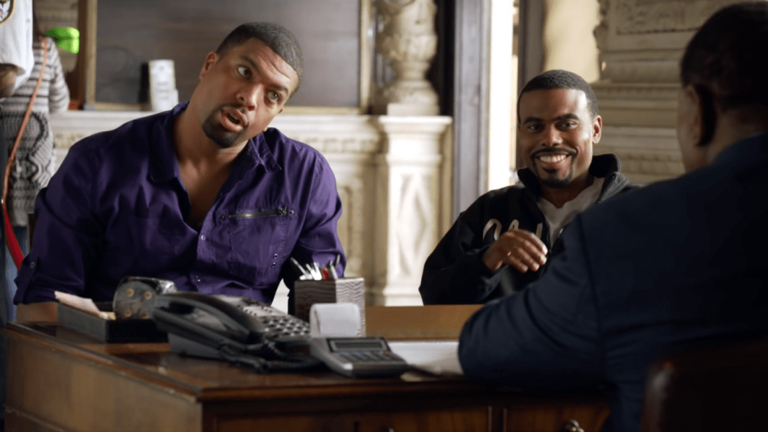 DeRay Davis & Lil Duval in 'Grow House' | Hollyweed Films, LLC