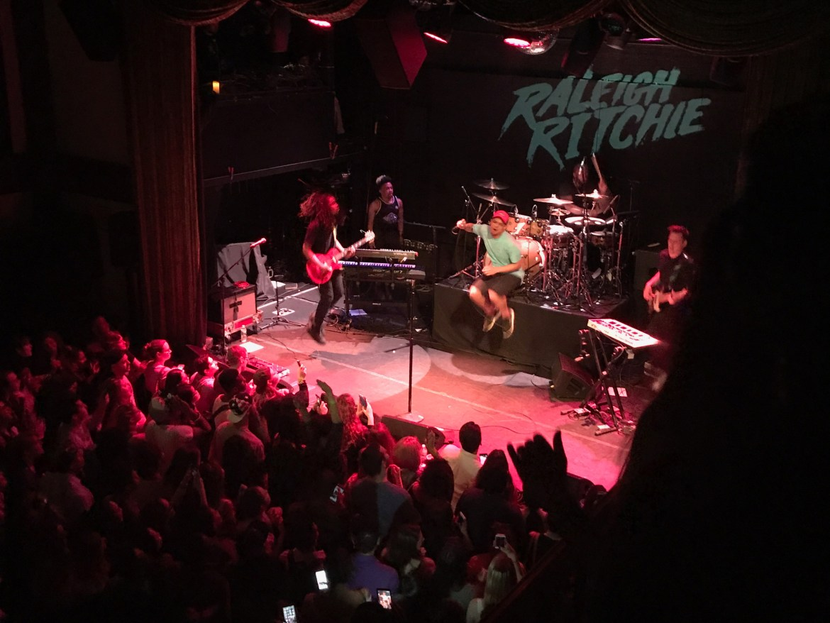 Raleigh Ritchie at Bowery Ballroom in New York City | Heed Magazine
