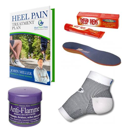 Complete 3 Step Heel Pain Treatment Plan