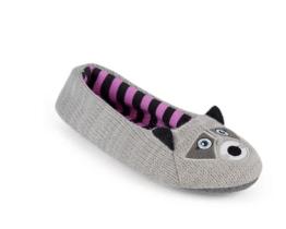 novelty raccoon slippers