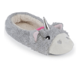 Unicorn ballerina slippers