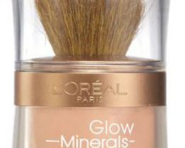 L'Oreal mineral glow powder foundation nude glow 02