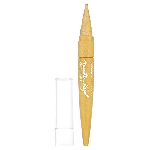 maybelline master kajal eyeliner oriental gold