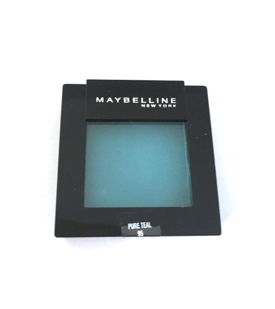 Maybelline colorsensational mono eyeshadow Pure Teal 95