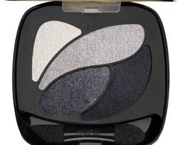 Loreal Color Riche Quad Eyeshadow Velours Noir E5