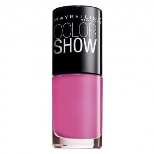 Maybelline Color Show Nail Polish Fuchsia Petal 427, Pink Nail Varnish