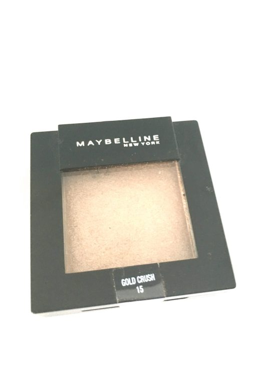 Maybelline Colorsensational Eyeshadow Gold Crush 15, Gold Eyeshadow