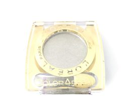 L'Oreal Color Appeal Eyeshadow Real Silver 150, Silver Eyeshadow
