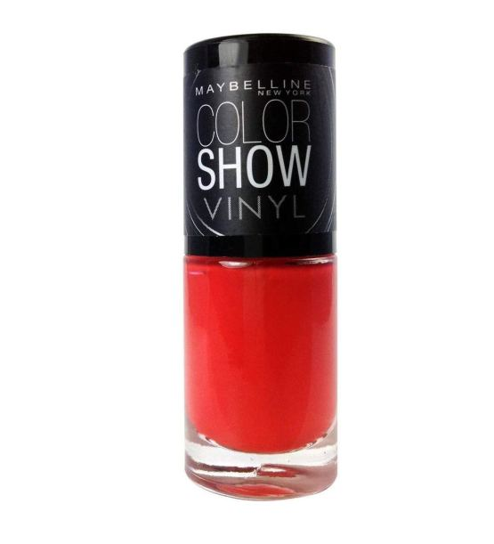 Maybelline Color Show Nail Polish Record Red 403, Red Nail Varnish, Vinyl