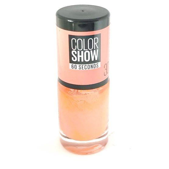 Maybelline Color Show Nail Polish Fire Island 30, Peach Nail Varnish