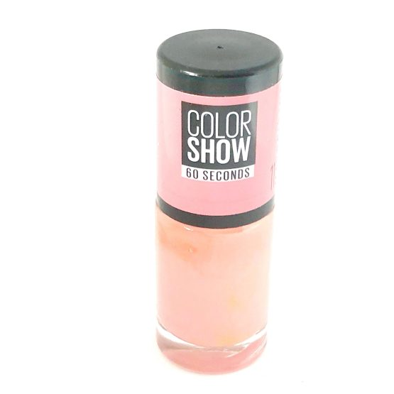 Maybelline Color Show Nail Polish From NY With Love 11, Peach Nail Varnish