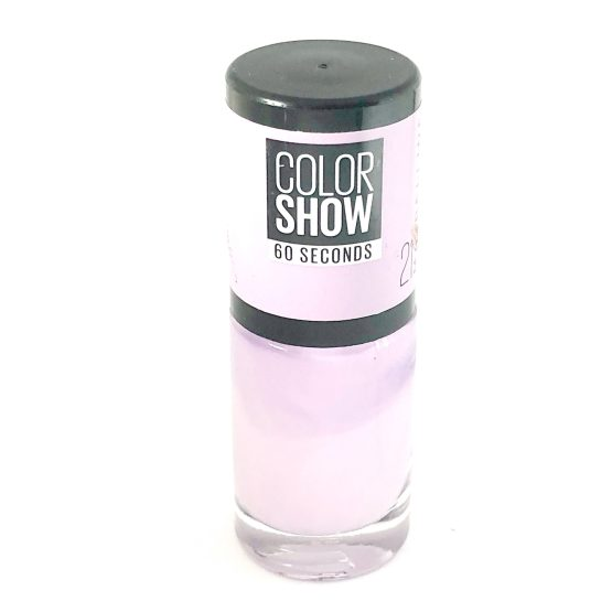 Maybelline Color Show Nail Polish Lilac Wine 21, Purple Nail Varnish