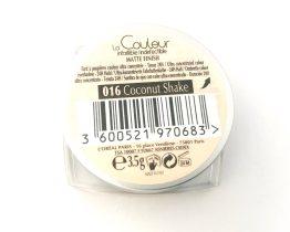 L'Oreal Infallible Eyeshadow Coconut Shake 016, Cream Eye Colour, Matte