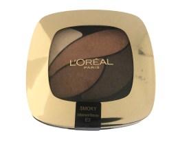L'Oreal Color Riche Quad Eyeshadow Palette Infiniment Bronze E3, Bronze Eyeshadow