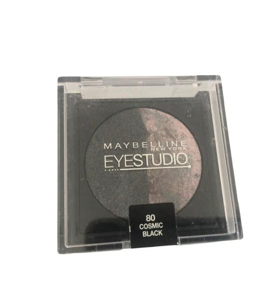 Maybelline Eyestudio Cosmos Eyeshadow Cosmic Black 80, Black Eyeshadow, Duo