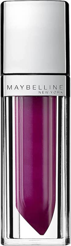 Maybelline ColorSensational Elixir Lipstick Raspberry Rhapsody 135, Purple Lipstick, Lip Lacquer, Liquid Lipstick