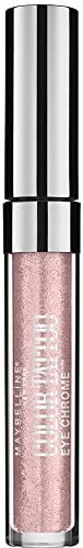 Maybelline Color Tattoo Eye Chrome Eyeshadow Gilded Rose 500, Rose Gold Eyeshadow, Light Pink, Pale Pink