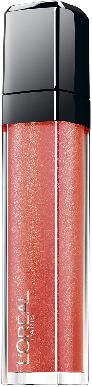 L'Oreal Infallible Mega Gloss Hold Me Close 502, Lipgloss, Beige Lipgloss, Glitter Lip Gloss